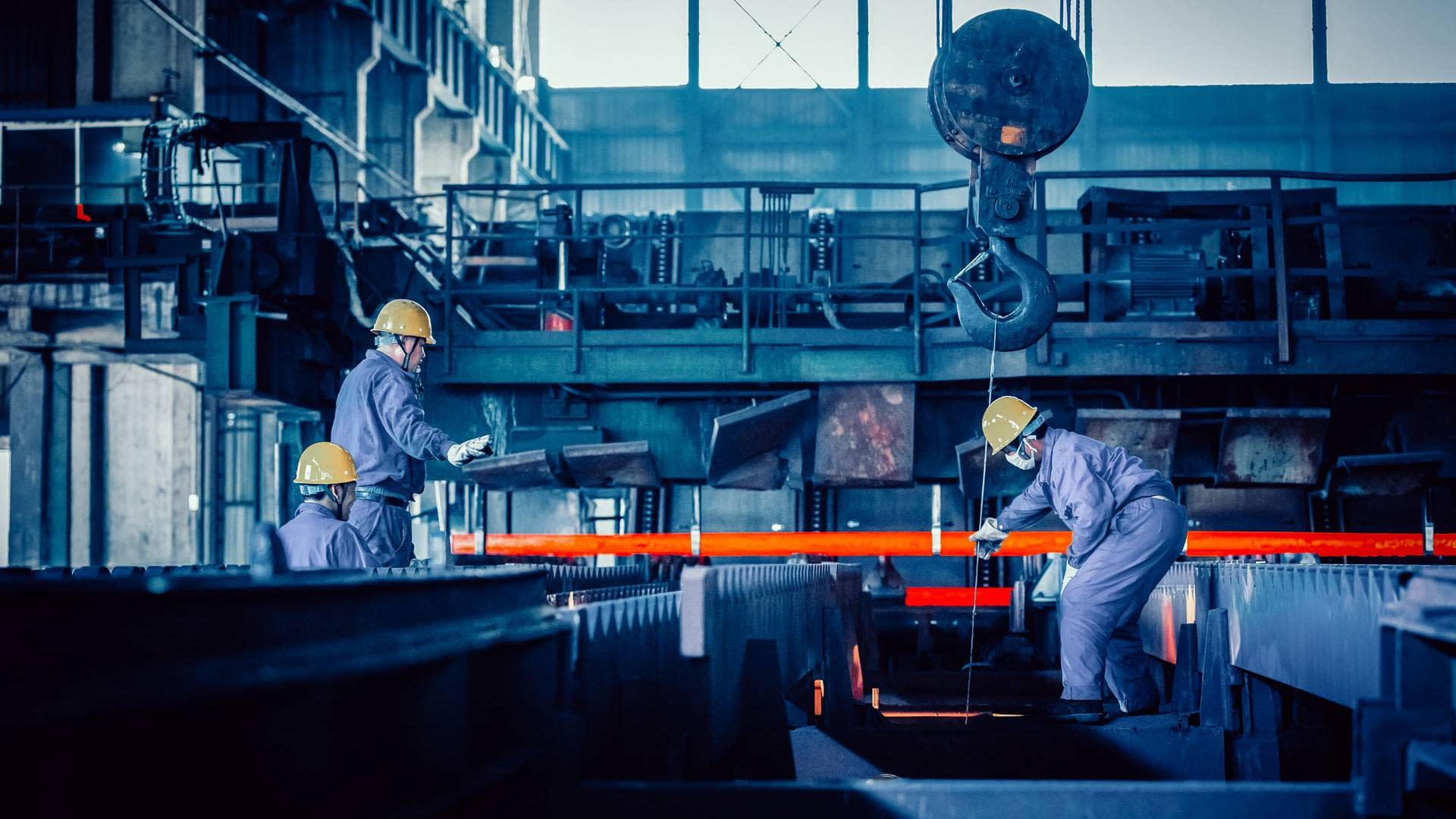 Stahlindustrie RBU