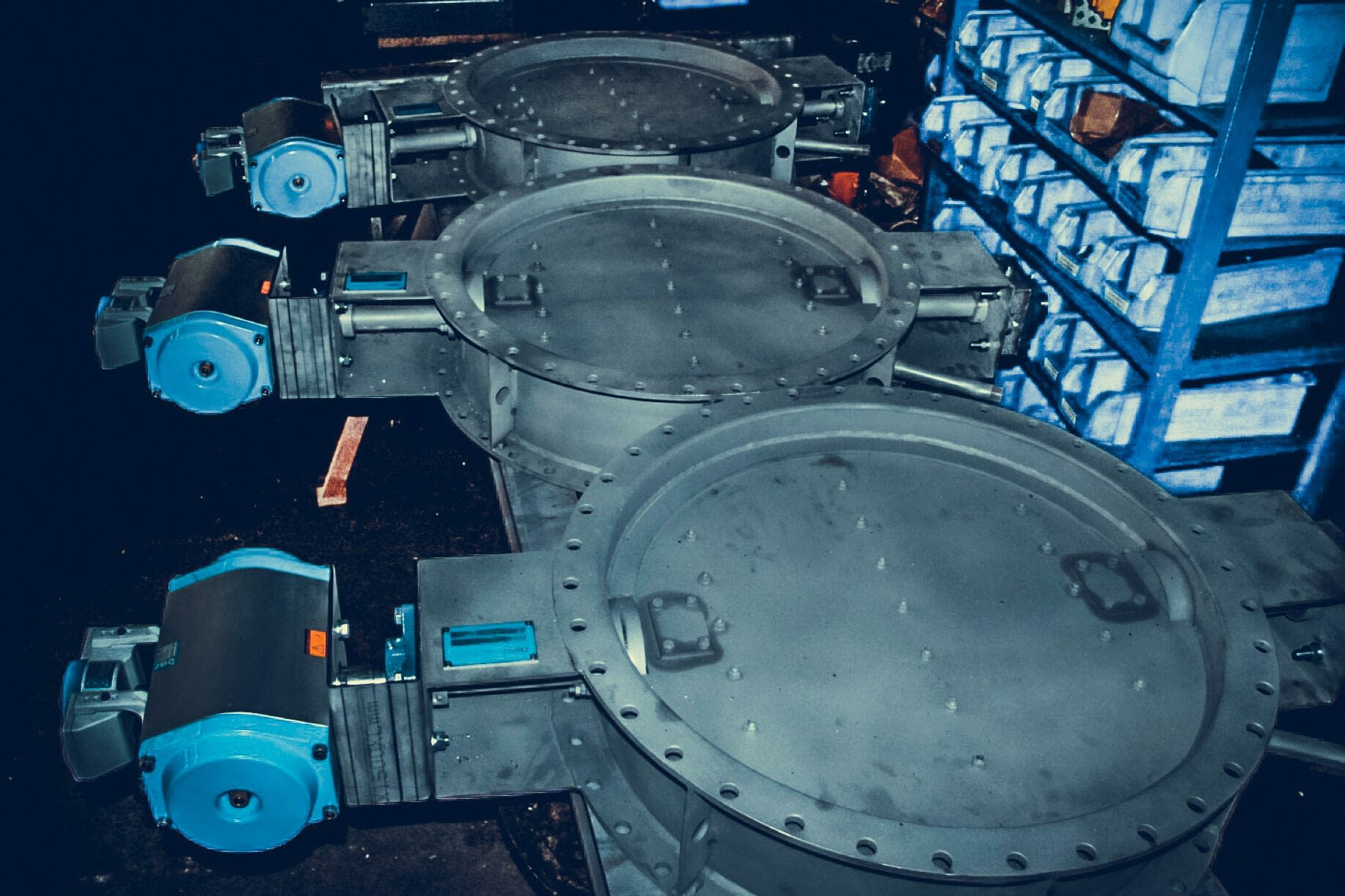 RBU Germany Prozessgasarmaturen Rauchgasarmaturen TDK Klappen